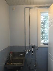 Uudet putket kodinhoitohuoneessa, Eloxa Tekniikka