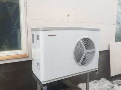 Ilma-vesilämpöpumppu, EloxaTekniikka